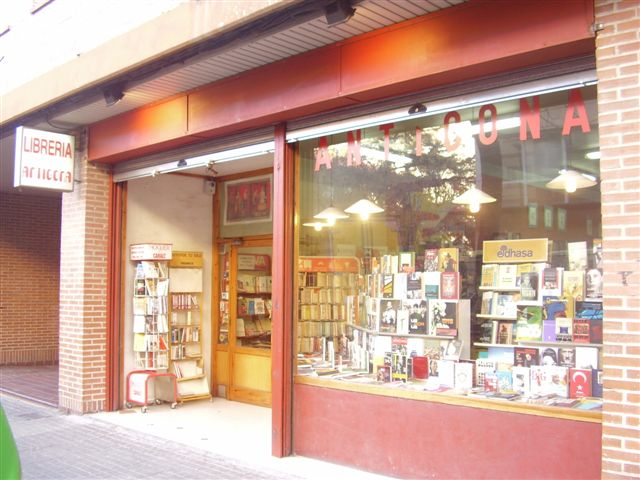 Libreria Antigona de Zaragoza